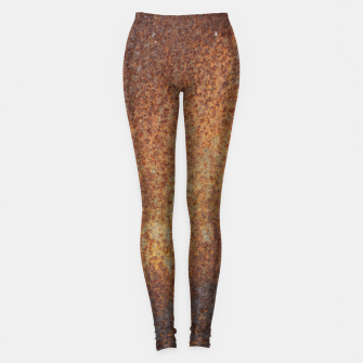 Thumbnail image of Rust Texture Legginsy, Live Heroes