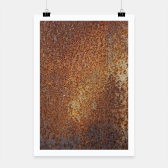Thumbnail image of Rust Texture Plakat, Live Heroes
