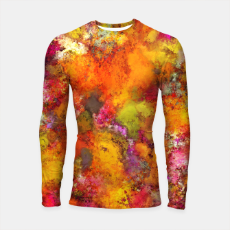Thumbnail image of Orange pop Longsleeve rashguard , Live Heroes