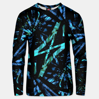 Miniatur Modern Abstract Geo Print Unisex sweater, Live Heroes