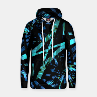 Thumbnail image of Modern Abstract Geo Print Hoodie, Live Heroes