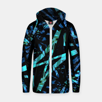 Miniatur Modern Abstract Geo Print Zip up hoodie, Live Heroes