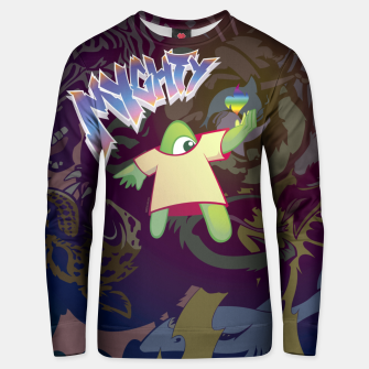Thumbnail image of Mighty A Sudadera unisex, Live Heroes