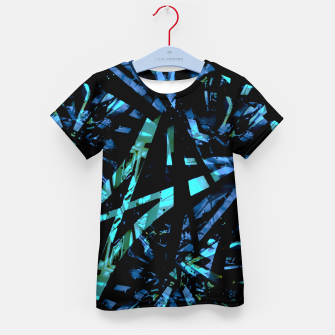 Thumbnail image of Modern Abstract Geo Print Kid's t-shirt, Live Heroes