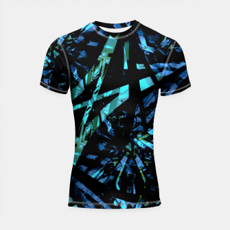 Thumbnail image of Modern Abstract Geo Print Shortsleeve rashguard, Live Heroes