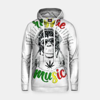 Thumbnail image of Reggea Music Funny Chimp Hoodie, Live Heroes