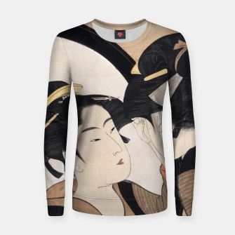 Thumbnail image of Mirror Mirror Women sweater, Live Heroes