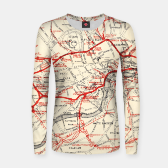 Thumbnail image of London Metropolitan Railway Women sweater, Live Heroes