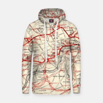 Thumbnail image of London Metropolitan Railway Hoodie, Live Heroes
