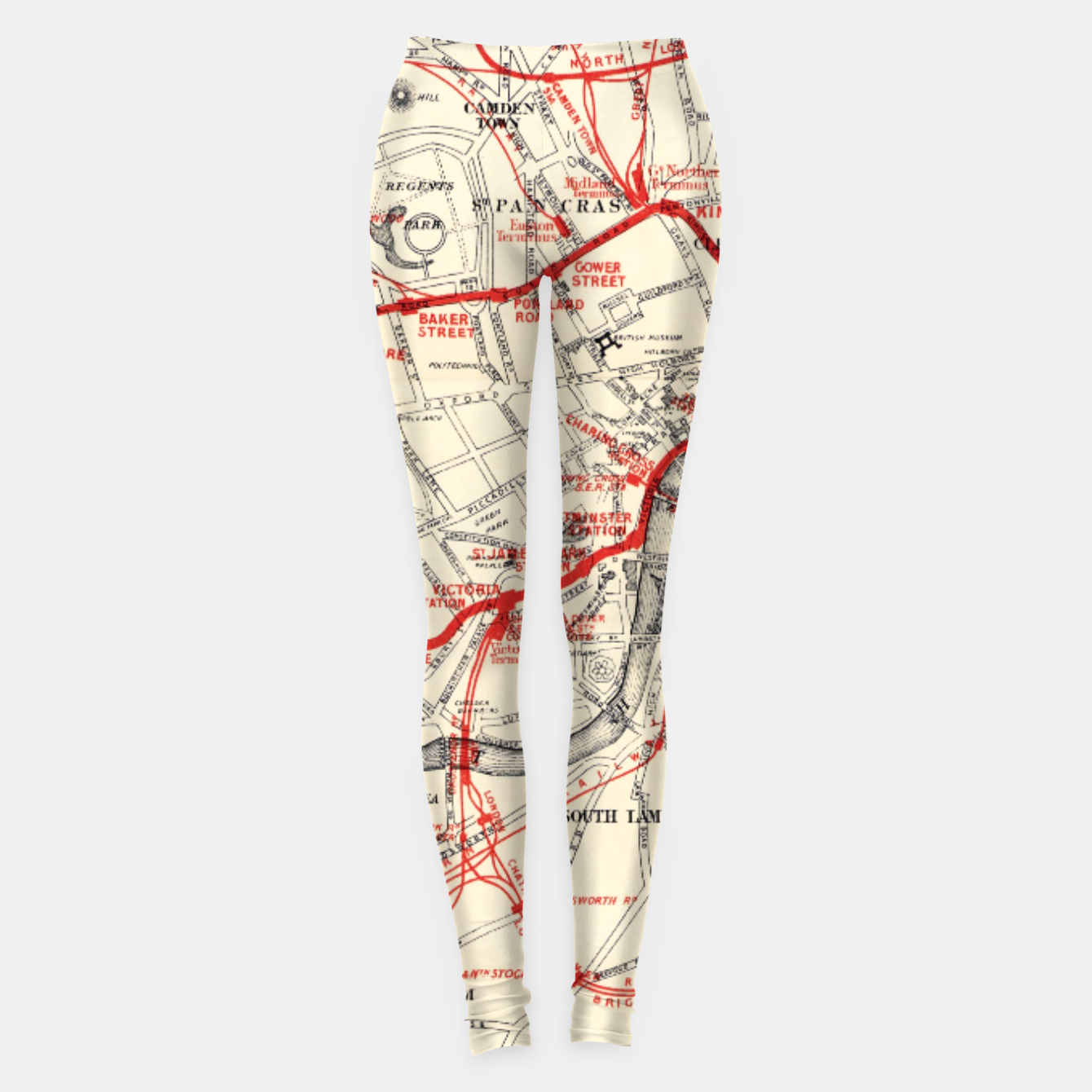 Image of London Metropolitan Railway Leggings - Live Heroes