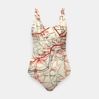Thumbnail image of London Metropolitan Railway Swimsuit, Live Heroes