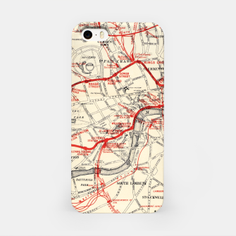 London Metropolitan Railway iPhone Case thumbnail image