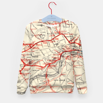 London Metropolitan Railway Kid's sweater thumbnail image