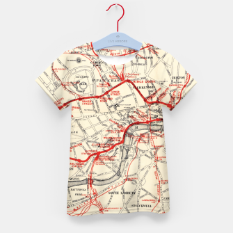 Thumbnail image of London Metropolitan Railway Kid's t-shirt, Live Heroes