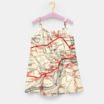 Thumbnail image of London Metropolitan Railway Girl's dress, Live Heroes