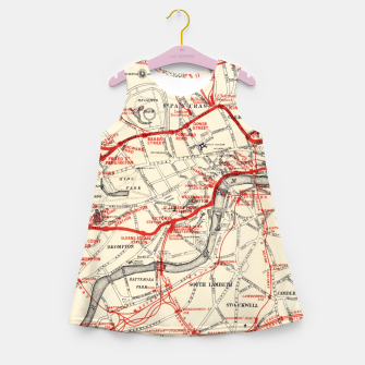Thumbnail image of London Metropolitan Railway Girl's summer dress, Live Heroes