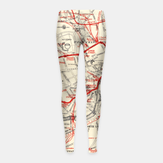 London Metropolitan Railway Girl's leggings thumbnail image