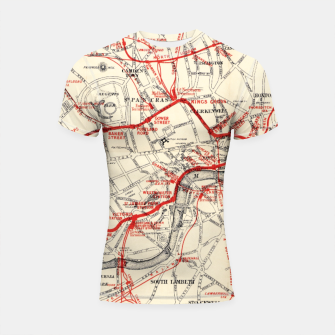 Thumbnail image of London Metropolitan Railway Shortsleeve rashguard, Live Heroes