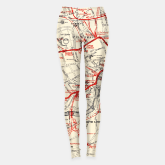Thumbnail image of London Metropolitan Railway Leggings, Live Heroes