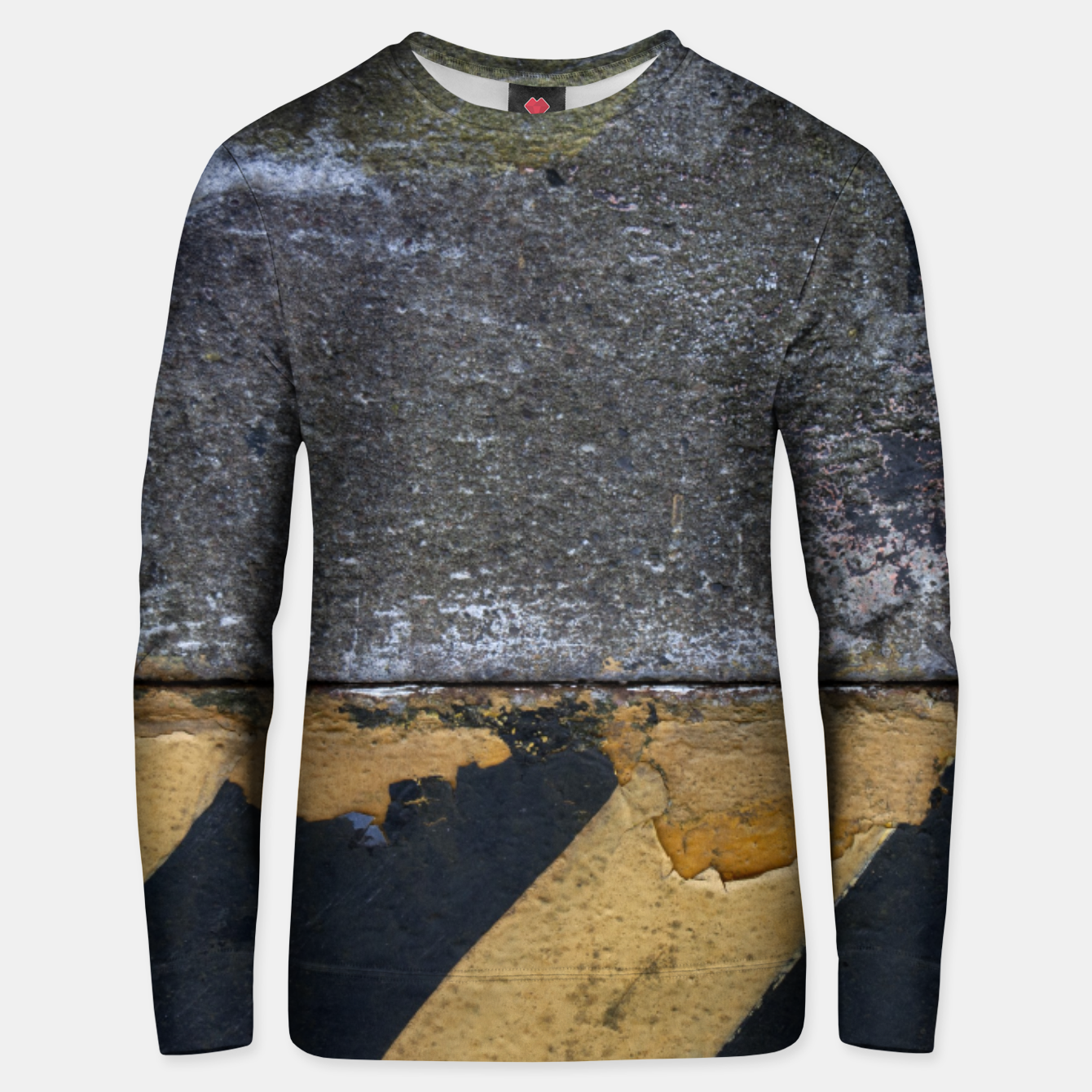 Image of End of the road Texture Bluza unisex - Live Heroes