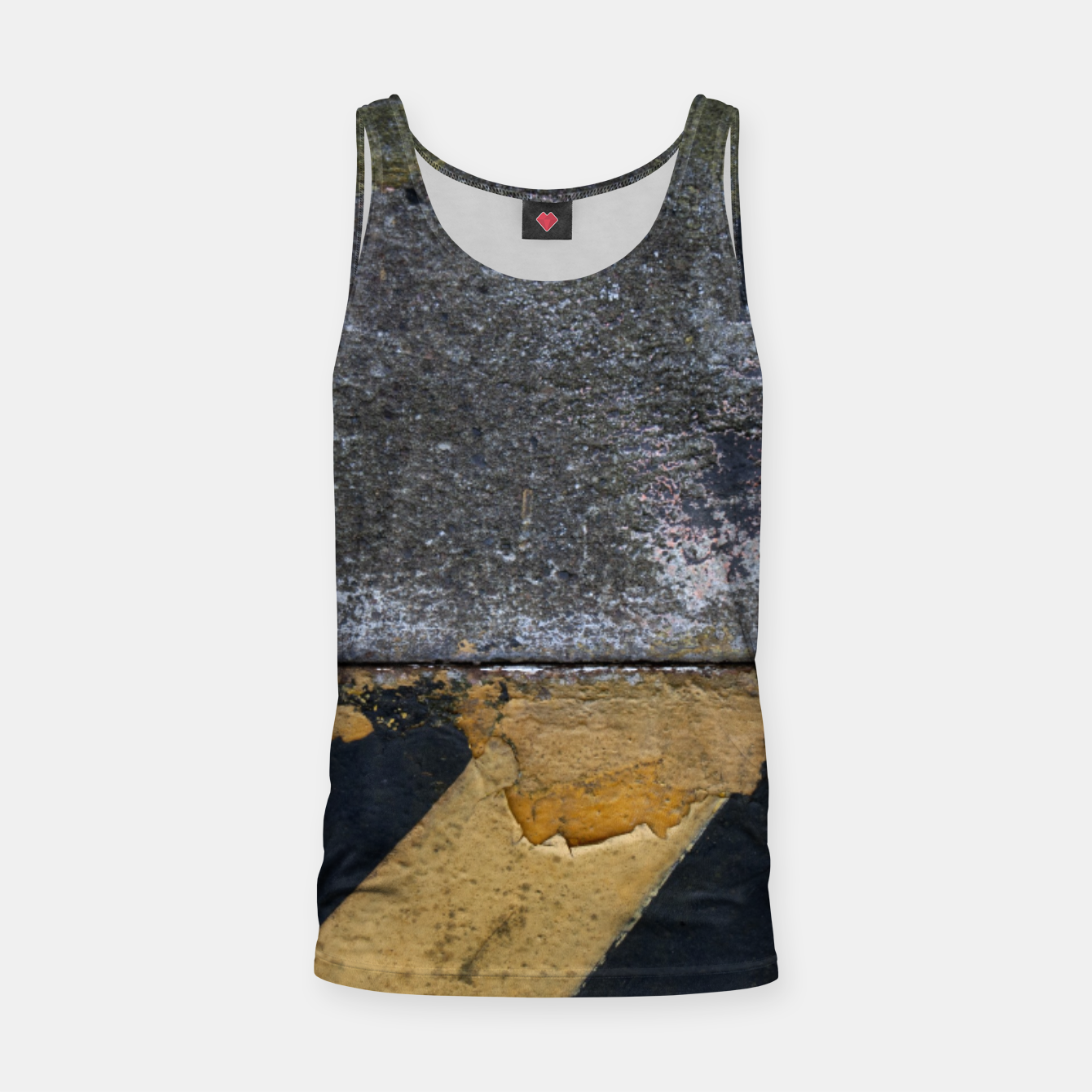 Image of End of the road Texture Tank Top - Live Heroes