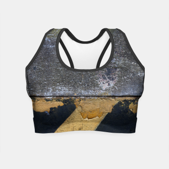 Miniatur End of the road Texture Crop Top, Live Heroes