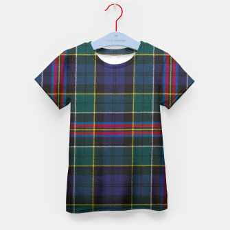 Thumbnail image of Allison Modern Tartan Kid's t-shirt, Live Heroes