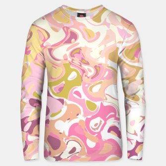 Thumbnail image of Little princess pink world, abstract pinkish shapes Unisex sweater, Live Heroes