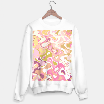 Thumbnail image of Little princess pink world, abstract pinkish shapes Sweater regular, Live Heroes