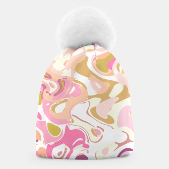 Thumbnail image of Little princess pink world, abstract pinkish shapes Beanie, Live Heroes