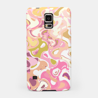 Thumbnail image of Little princess pink world, abstract pinkish shapes Samsung Case, Live Heroes