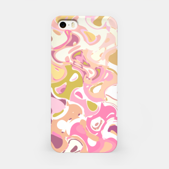 Thumbnail image of Little princess pink world, abstract pinkish shapes iPhone Case, Live Heroes