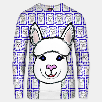 Alpaca Love - Be happy! Unisex sweatshirt thumbnail image