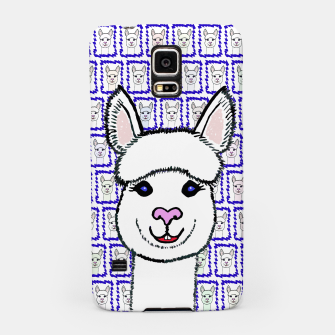 Thumbnail image of Alpaca Love - Be happy! Handyhülle für Samsung, Live Heroes