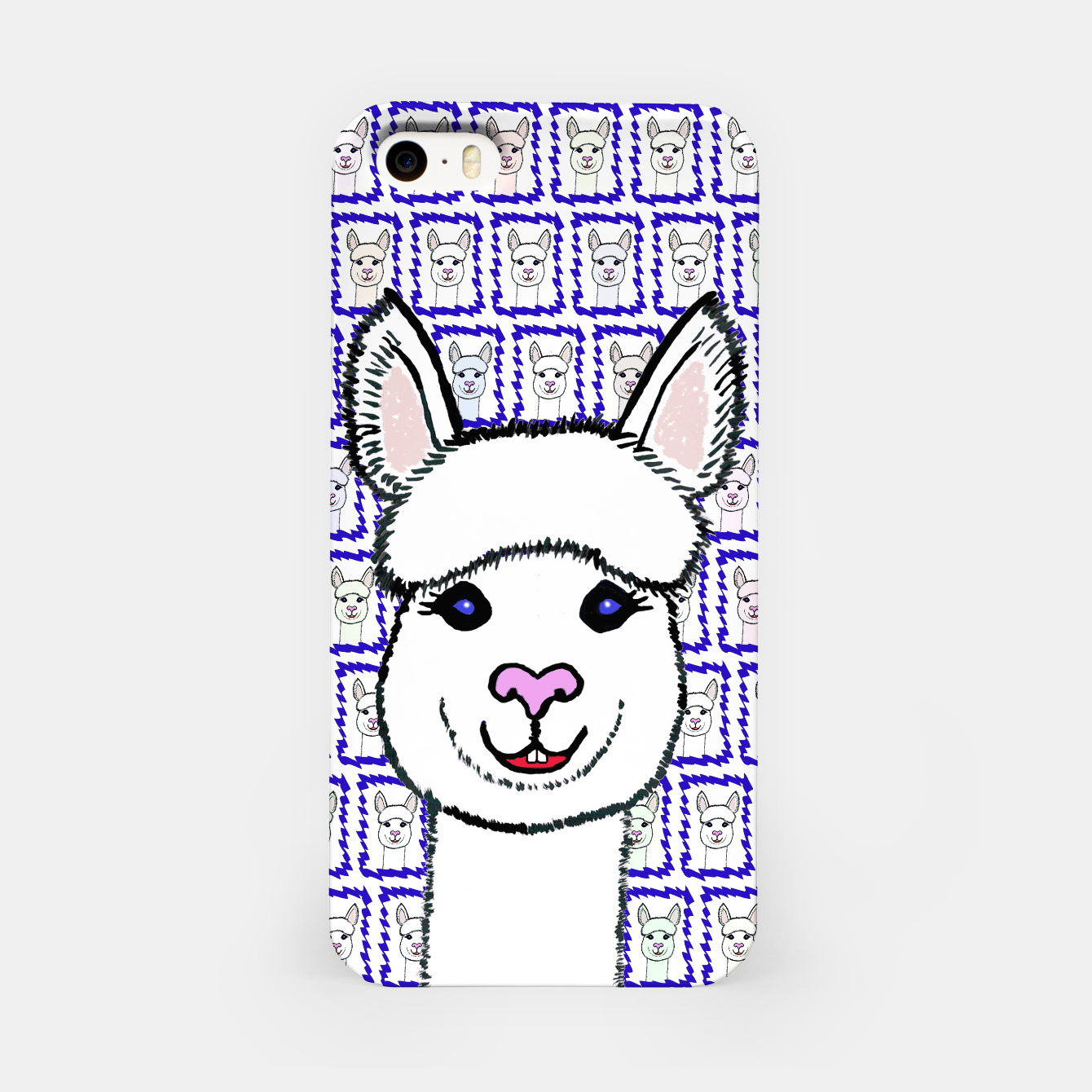 Image of Alpaca Love - Be happy! iPhone-Hülle - Live Heroes
