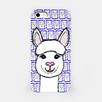 Thumbnail image of Alpaca Love - Be happy! iPhone-Hülle, Live Heroes