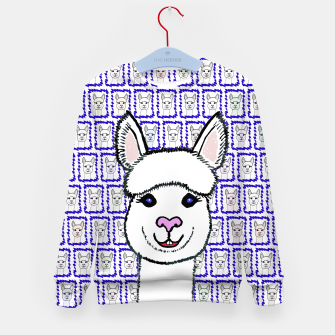 Thumbnail image of Alpaca Love - Be happy! Kindersweatshirt, Live Heroes