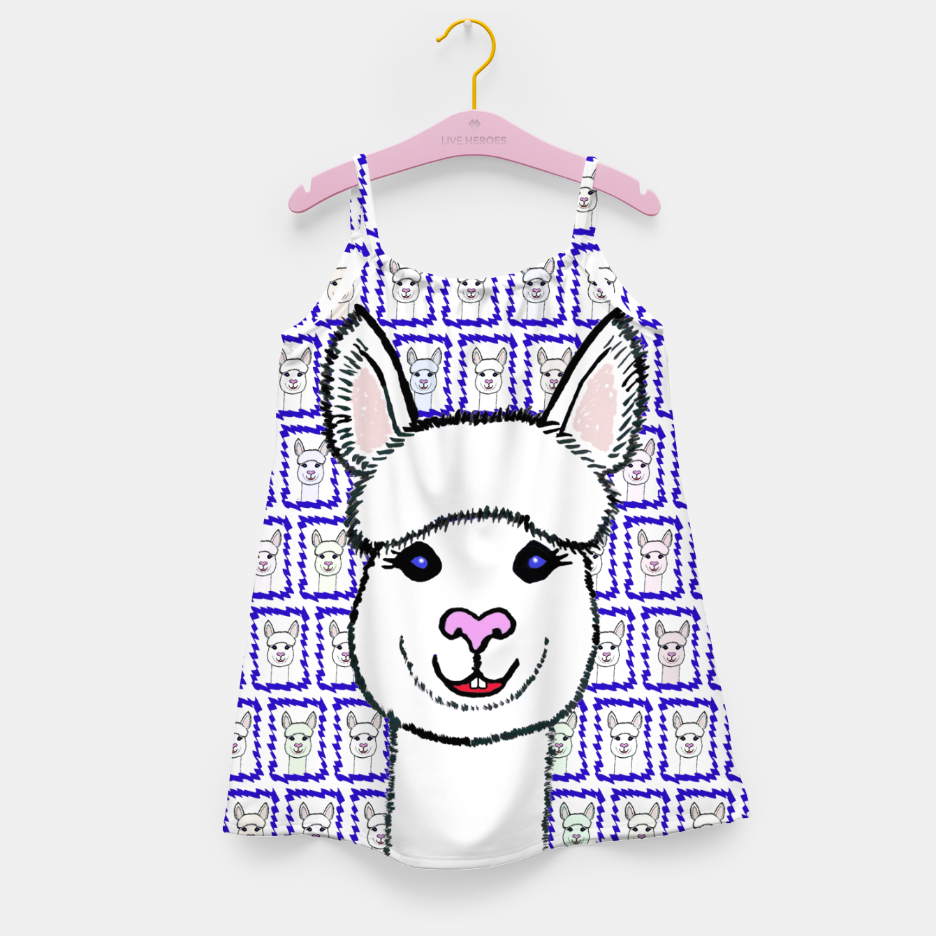 Image of Alpaca Love - Be happy! Mädchenkleid - Live Heroes