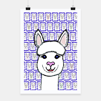 Alpaca Love - Be happy! Plakat thumbnail image
