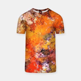Thumbnail image of A jumping orange horse T-shirt, Live Heroes