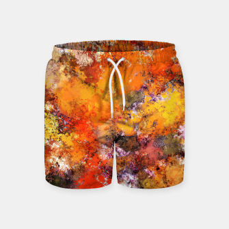 Thumbnail image of A jumping orange horse Swim Shorts, Live Heroes
