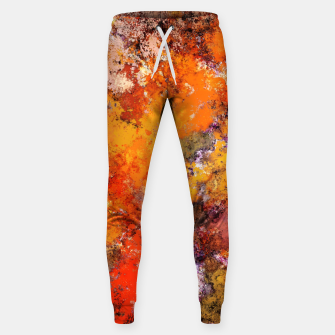 Thumbnail image of A jumping orange horse Sweatpants, Live Heroes