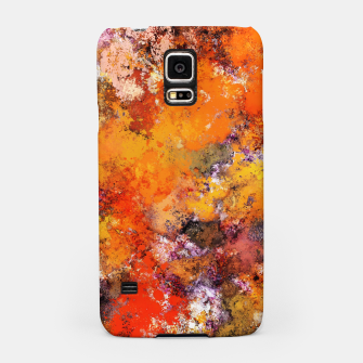 Thumbnail image of A jumping orange horse Samsung Case, Live Heroes