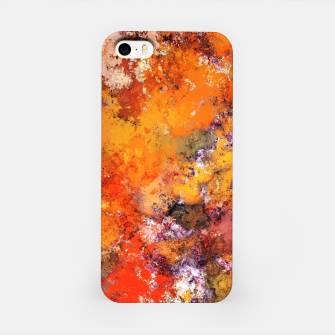 Thumbnail image of A jumping orange horse iPhone Case, Live Heroes