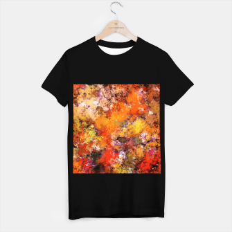Thumbnail image of A jumping orange horse T-shirt regular, Live Heroes
