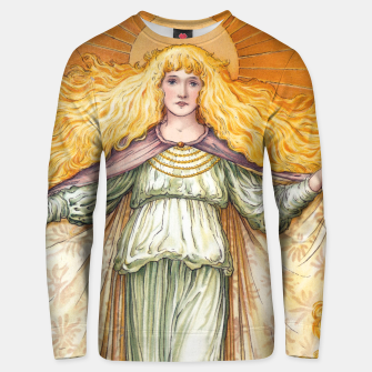 Thumbnail image of Princess Golden Flower Unisex sweater, Live Heroes