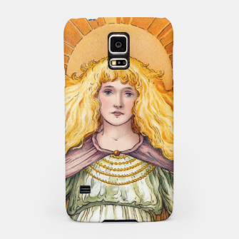 Thumbnail image of Princess Golden Flower Samsung Case, Live Heroes