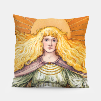 Thumbnail image of Princess Golden Flower Pillow, Live Heroes