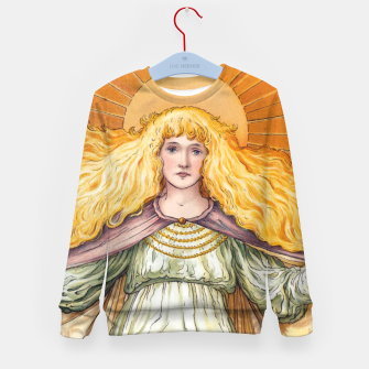 Thumbnail image of Princess Golden Flower Kid's sweater, Live Heroes