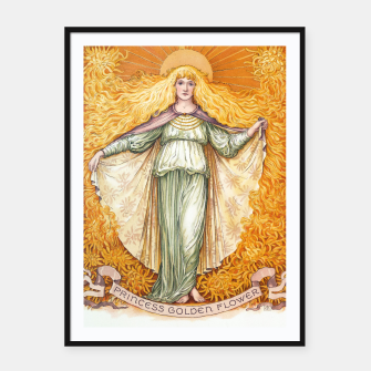 Thumbnail image of Princess Golden Flower Framed poster, Live Heroes